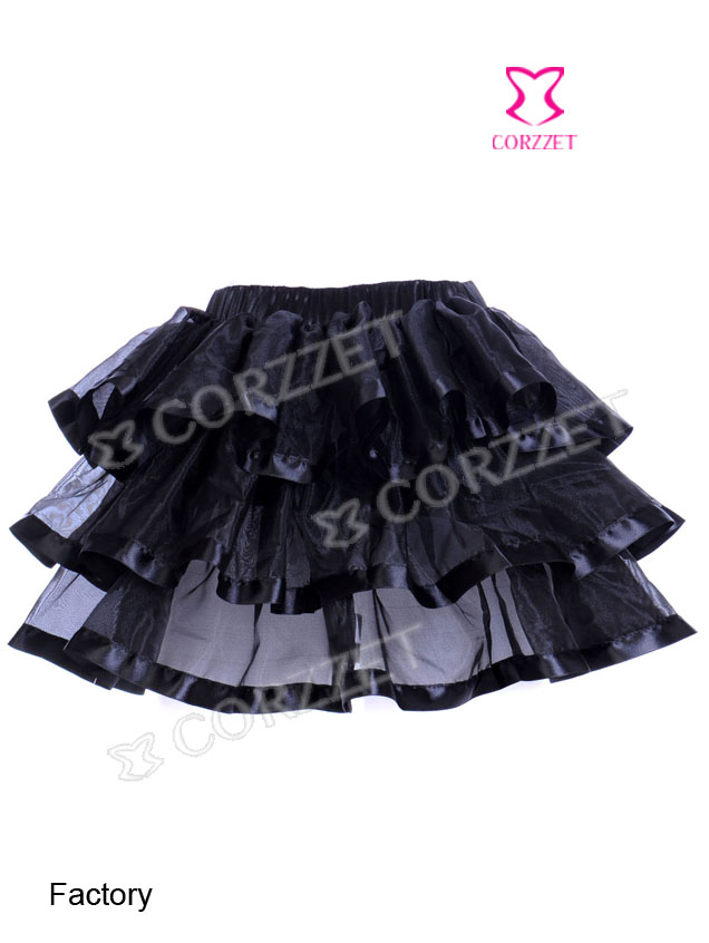 3704#  Sexy Multilayer Skirt