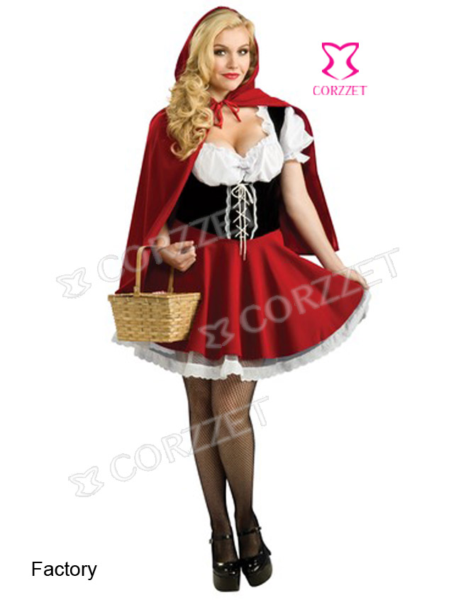 8227# Red Riding Hood Costume